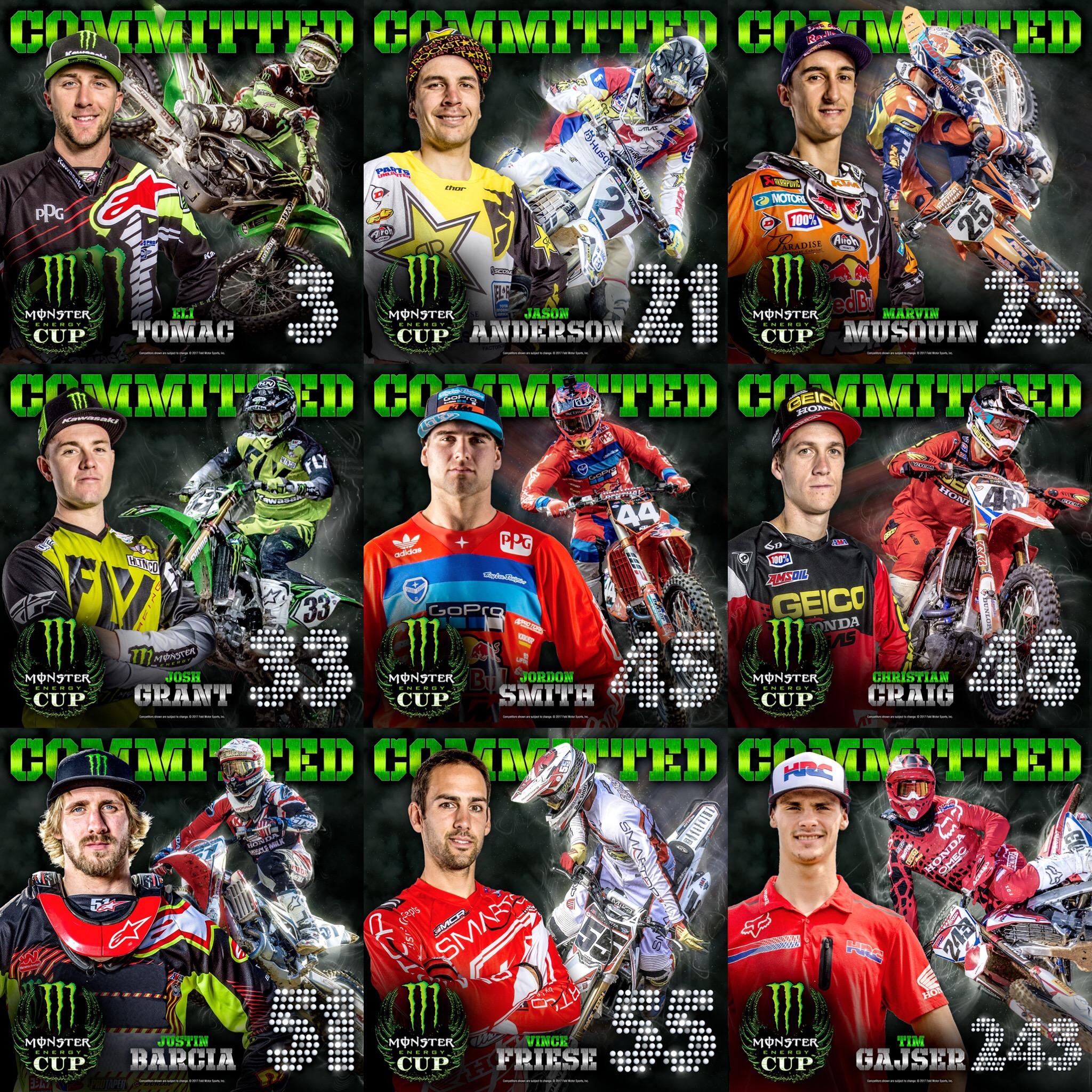 Committed For Monster Energy Cup Supercross Live