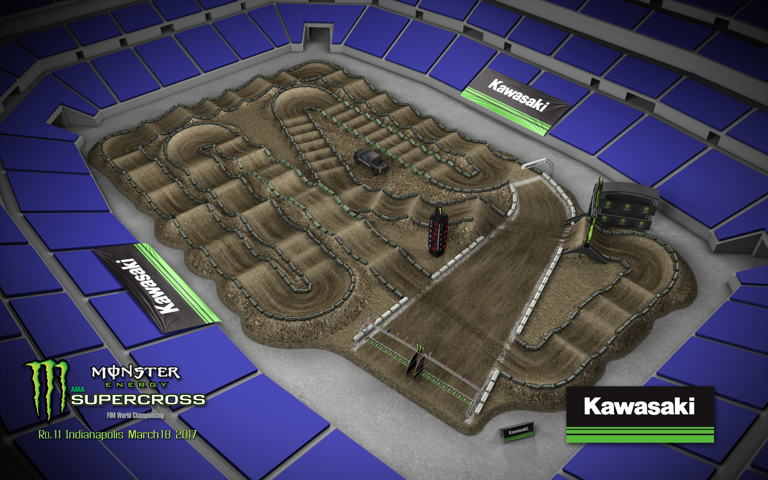 2017 Track Maps Supercross Live