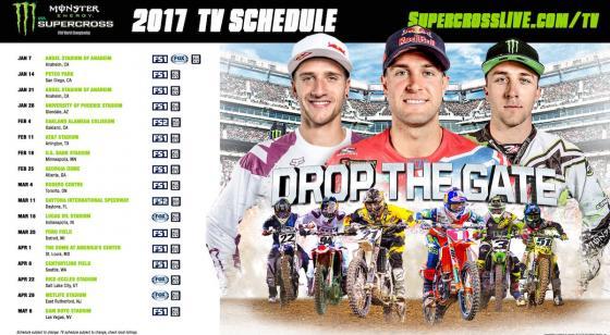 2017 TV Schedule