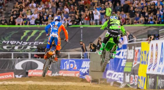 The final race in Las Vegas pits the top two with Dungey and Tomac to settle it.