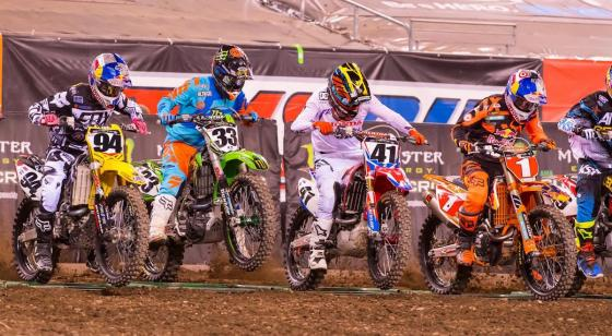 450SX Start East Rutherford 2016